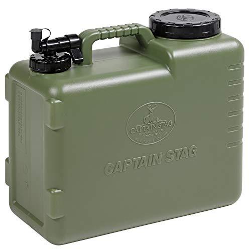 キャプテンスタッグ(CAPTAIN STAG) ポリタンク ウォータータンク ウォータージャグ 抗菌タイプ 20L オリーブ ボルディー UE-2033 製品サイズ:(約)395×190×高さ360mm