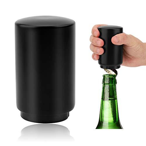 Abrebotella Automático Abridor de Botellas de Acero Inoxidable Abrebotellas Magnetico Regalos de Cerveza para Hombres Abridor de Botellas de Acero Inoxidable Removedor de Tapas de Botellas