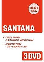 サンタナ プレイズ・ブルース・アット・モントルー 2004 + ピース・コンサート~ライヴ・アット・モントルー2004《ダブルパック・シリーズ》 [DVD]