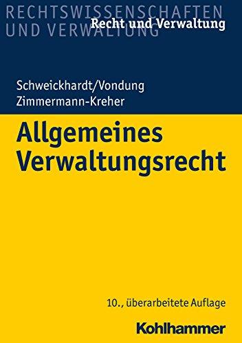Allgemeines Verwaltungsrecht (Recht und Verwaltung)