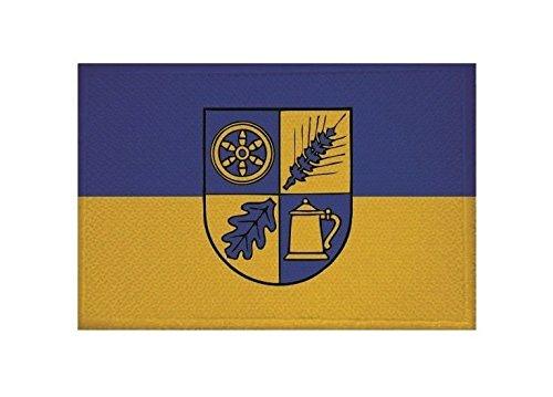U24 Aufnäher Hahausen Fahne Flagge Aufbügler Patch 9 x 6 cm