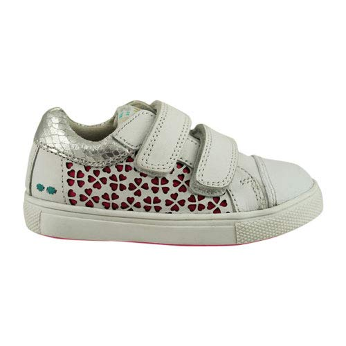 BunniesJR 219311-591 - Kinderschoenen Meisjes Maat 23 - Wit - Sneakers