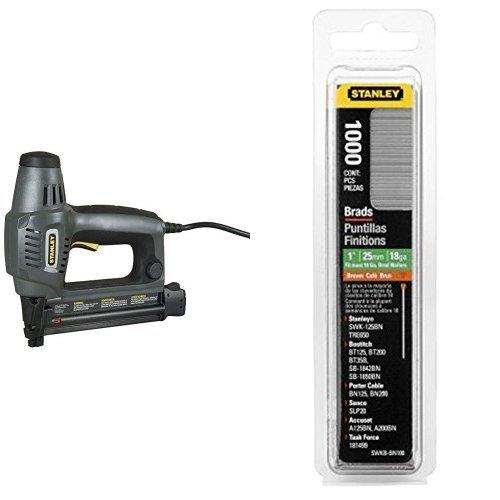 Stanley 6-TRE650 - TRE650- Clavadora ELECTRICA - para brad tipo 8 - + 1-SWK-BN0625T - Clavo / Brad 8 / 300 / E / o J - 15mm - 1000 u.