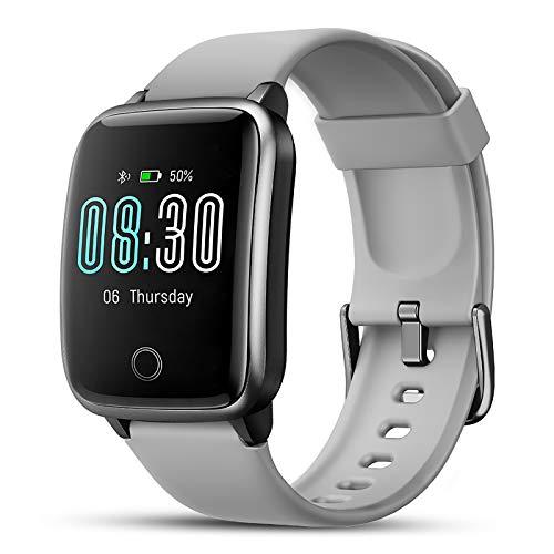 Smartwatch, LIFEBEE Fitness Armband Fitness Tracker IP68 Wasserdicht Fitness Uhr mit Schlafmonitor Stoppuhr Pulsuhren Schrittzähler Smart Watch für Damen Herren Armbanduhr Sportuhr für iOS Android