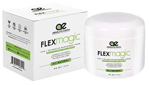 Pain Relief Cream ,Recovery Sans Hemp [4 oz] MAXIMUM STRENGTH - ALL NATURAL Anti-Inflammatory Cream For...