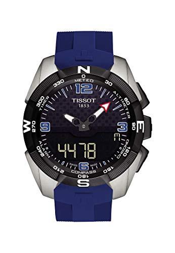 Tissot Herren-Uhren Analog Quarz, solar One Size Kautschuk 87249239