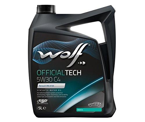 Wolf - Bidon 5 litres d'huile Moteur 5W30 C4-10 SYNFLOWC45W305-8308512