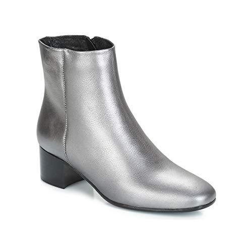 betty london JOMELO Stiefelletten/Boots Femmes Silbern - 41 - Low Boots