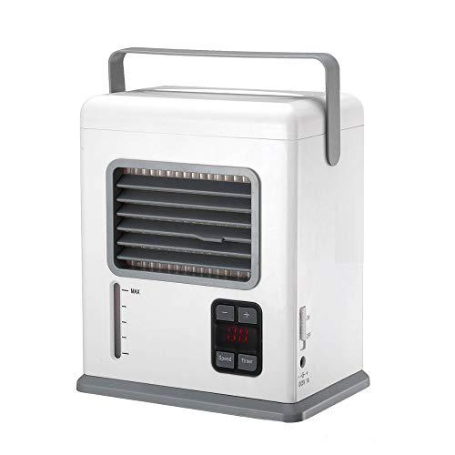 YBZS Condizionatore D'aria Portatile, Ventilatore Portatile Aria/Condizionatore Umidificatore/Serbatoio Dell'acqua/Home Office Ventola Di Raffreddamento