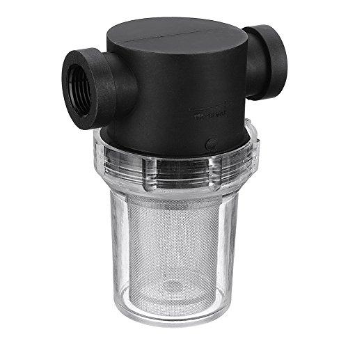 Filtro de tubería universal para el hogar, filtro de malla en línea, filtro de bomba de agua para el jardín, riego, flujo alto 25 mm As Picture Show