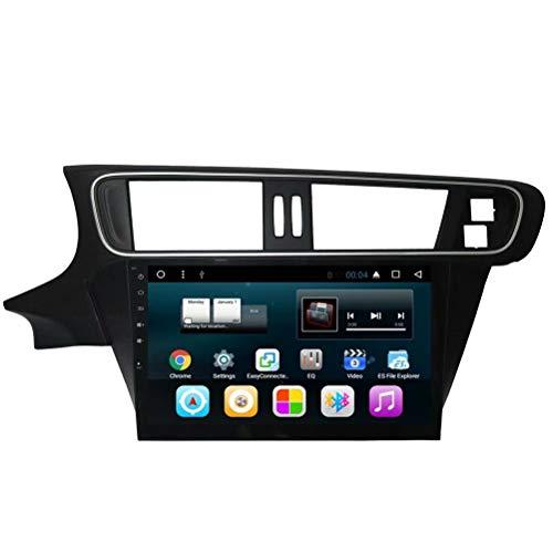 TOPNAVI Android 7.1 Auto Navigation pour Citroen C3-XR 2014 2015 2016 2017 Voiture Radio Stéréo GPS Player avecWIFI 3G RDS Lien Miroir FM AM BT Audio Vidéo