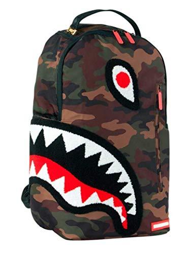 SPRAYGROUND | B1598NSZ Torpedo Shark Backpack - Camo Khaki