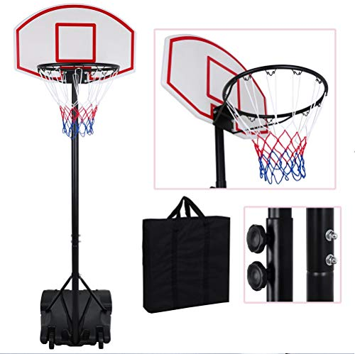 Learn More About Adjustable Basketball Hoop System Stand Kid Indoor Outdoor Party Fun for Family (Ad...