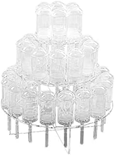 3 Tier-clear Acrylic Push Pop Cake Stand (3TPP)