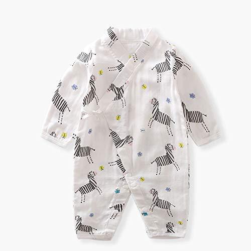 Baby Romper pyjama, katoen met lange mouwen peuters Jongens Meisjes Hansop, Jumpsuit voor 0-12 maanden Pasgeboren