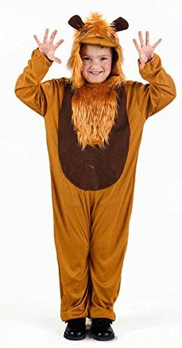 ATOSA disfraz leon niño unisex infantil 3 a 4 años