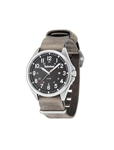 Timberland Reloj Analógico para Hombre de Cuarzo con Correa en Cuero TBL-GS-14829JS-02-AS