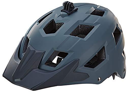Prophete Unisex– Erwachsene MTB Fahrradhelm Größe: 58-61 cm, matt grau, TÜV/GS geprüft