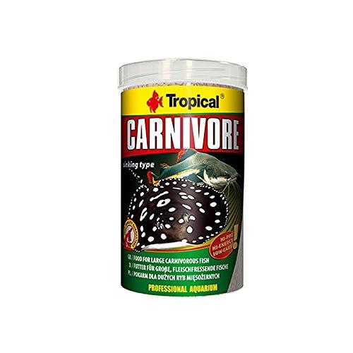 Tropical Carnivore - Futter für große, fleischfressende Fische (Rochen, Raubwelse), 1er Pack (1 x 1 l)