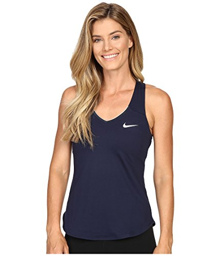 NIKE W NKCT Pure Tank Camiseta de Tirantes, Mujer, Azul...