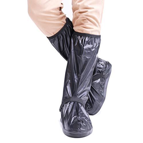VXAR Waterproof Shoe Cover Motorcycle Black3 2XL
