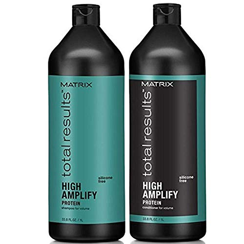 Matrix Kit Total Results High Amplify Shampoo 1000 ml + Pflegespülung 1000 ml