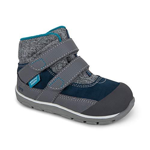 See Kai Run - Atlas II Waterproof Insulated Boots for Kids, Navy, 4