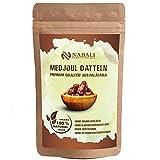 Medjoul - Medjool Datteln aus Palästina 400 g | Qualitätsware - 100% naturell | naturbelassen | aromatisch | unbehandelt | ohne Konservierungsstoffe | Vegan | Jumbo