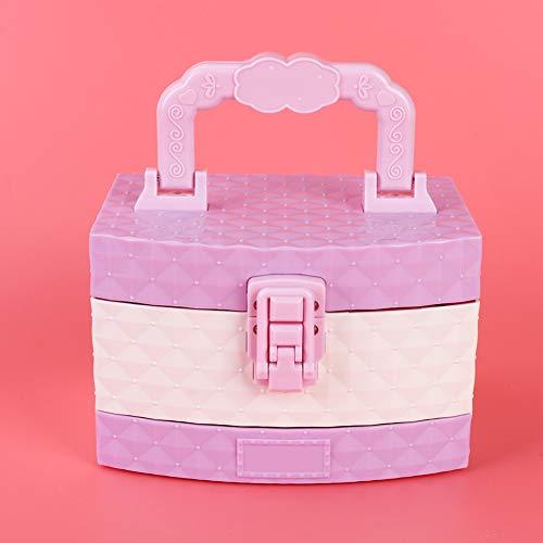 Ong Juguete de cosméticos, Mini Maquillaje de Juego de ensueño Soluble en Agua, Juguete de casa de Juegos para niños
