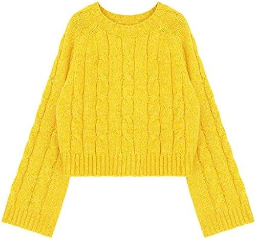 JIAKENVDE Winter courte mode Twist Loose Slim petit chandail Wohommes veste