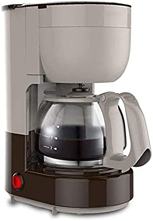 Filter Coffee Machine - Small Household American Drip Type Household Coffee Grinder jsmhh (Color : Gray)
