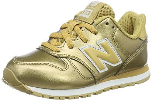 New Balance Mädchen Yc373v1 Sneaker, Gold (Classic Gold Classic Gold), 30.5 EU