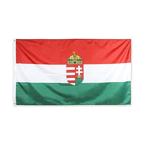 XiaoOu Bandera del Orgullo 60 * 90cm 90 * 150cm 120 * 180cm HUN Bandera de Hungría FLA, 120 x 180cm