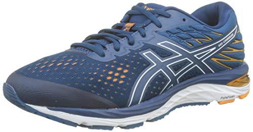 Asics Gel-Cumulus 21, Zapatillas de Running Hombre, Azul (Mako Blue/White 400), 42 EU