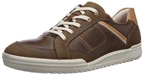 ECCO Fraser - Zapatillas para hombre, color Brown (Cocoa Brown/Cocoa Brown/Lion), talla 41