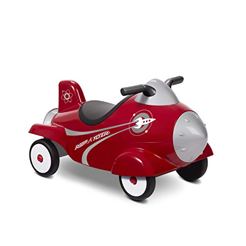 Radio Flyer Retro Rocket Ride-On for Toddlers