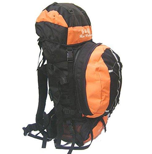80 L sport all'aria aperta arrampicata foto-borsa viaggio borsa borsa zaino , orange