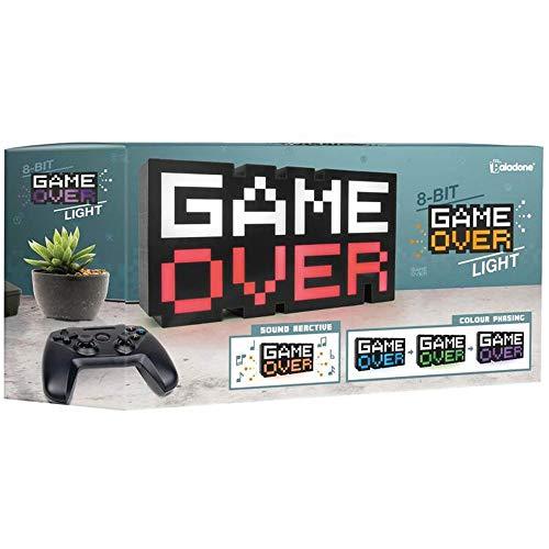Game Over - 8-bit - tafellamp | retro