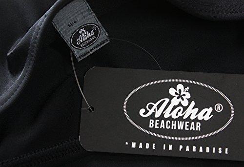 Aloha-Beachwear Damen Bikini A1072 Schwarz/Weiss Gr. 44 - 4