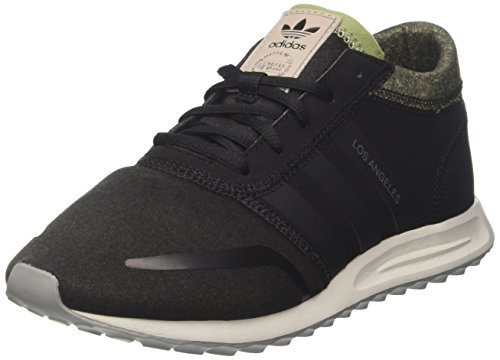 Adidas Herren LOS ANGELES Sneaker, Schwarz Negbas/Griuno 000), 44 EU