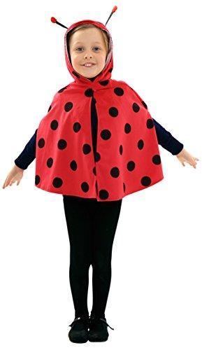 Disfraz de Mariquita para niñas de 1 a 2 años