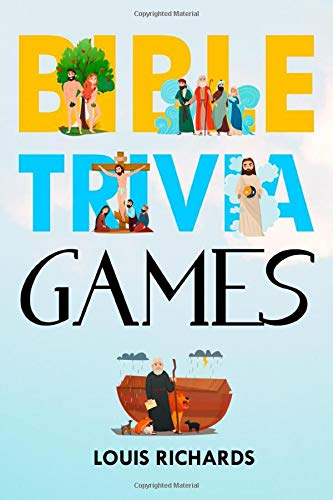 Bible Trivia Games: Christian Bible Game Book with 1000 Quiz Questions and Answers