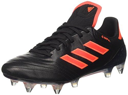 adidas Copa 17.1 SG, Zapatillas de Fútbol Hombre, Rojo (Core Black/Solar Red), 39 1/3 EU