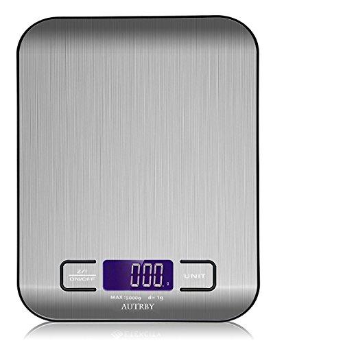 デジタルキッチンスケール 皿はかり 多機能フードスケール 食品用電子はかり 精密電子計り 計量範1g~5.0kg ...