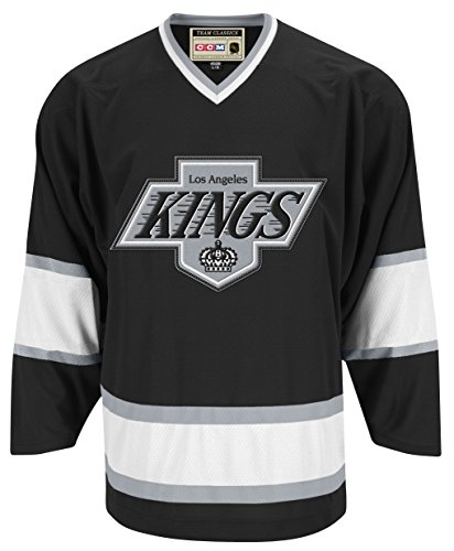 Los Angeles Kings CCM Reebok NHL Vintage Premier Black Jersey Trikot