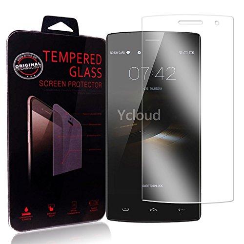 Ycloud Panzerglas Folie Schutzfolie Bildschirmschutzfolie für Homtom HT7 / HT7 Pro Screen Protector mit Festigkeitgrad 9H, 0,26mm Ultra-Dünn, Abger&ete Kanten