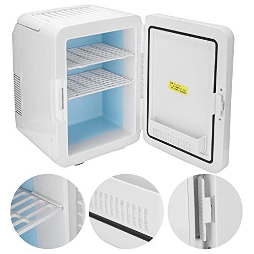 01 Refrigerador portátil, más ergonómico y más cómodo de Usar y Llevar Mini refrigerador para la Oficina para el hogar(Pink)