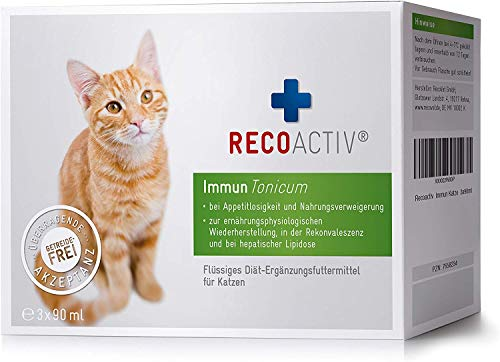 RECOACTIV® Immun Tonicum für Katzen - Kurpackung 3x90 ml