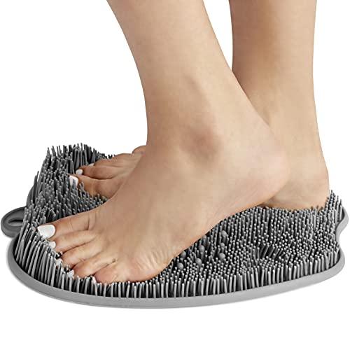 shower foot scrubber mat