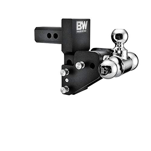 B&W Trailer Hitches B&W MultiPro Tow & Stow - Fits 2' Receiver, Tri-Ball (1-7/8' x 2' x 2-5/16'), 2.5' Drop, 10,000 GTW
